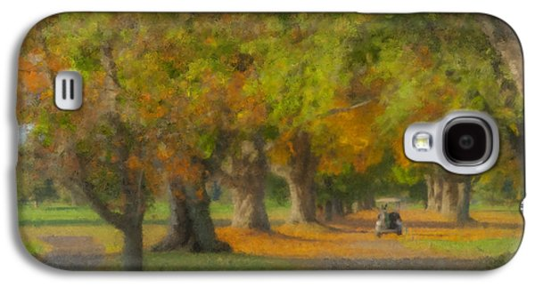 October Morning At Easton Country Club Galaxy S4 Case by Bill McEntee