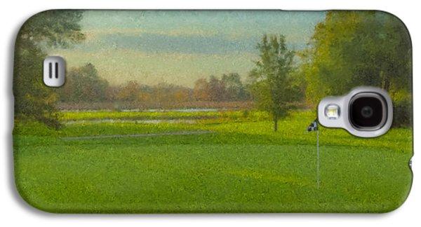 October Morning Golf Galaxy S4 Case by Bill McEntee