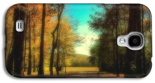 October Path Galaxy S4 Case by Steven Gordon