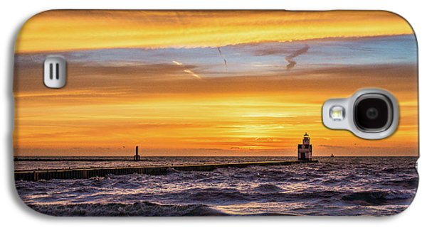 Galaxy S4 Case featuring the photograph October Surprise by Bill Pevlor