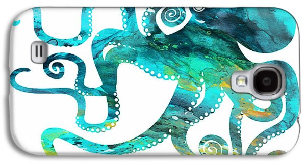 Octopus 2 Galaxy S4 Case by Donny Art