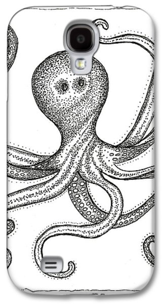 Octopus Galaxy S4 Case by Stephanie Troxell