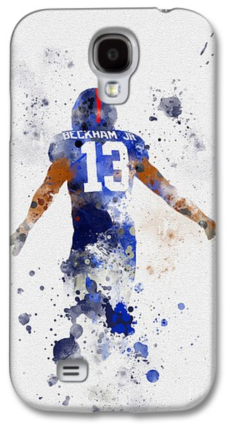 Odell Beckham Jr Galaxy S4 Case by Rebecca Jenkins