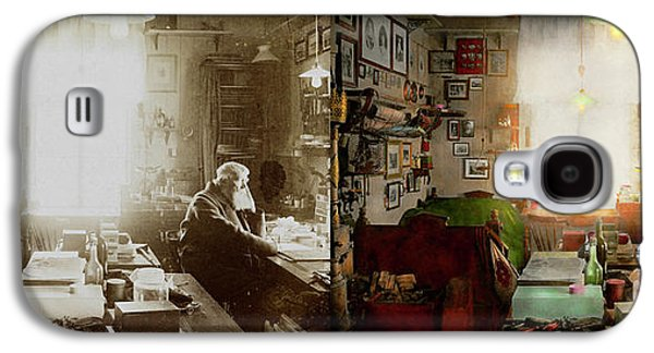 Office - Ole Tobias Olsen 1900 - Side By Side Galaxy S4 Case by Mike Savad