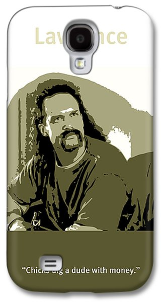 Office Space Lawrence Diedrich Bader Movie Quote Poster Series 006 Galaxy S4 Case by Design Turnpike