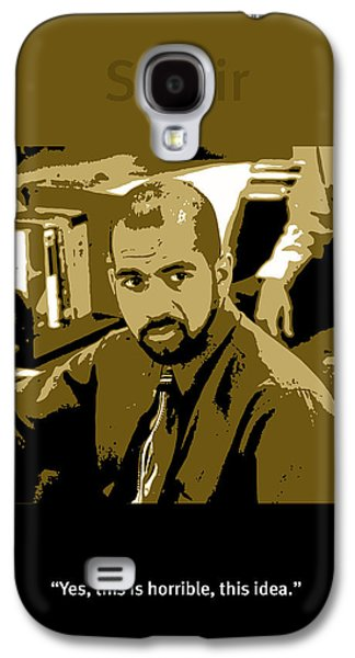 Office Space Samir Nagheenanajar Movie Quote Poster Series 005 Galaxy S4 Case by Design Turnpike