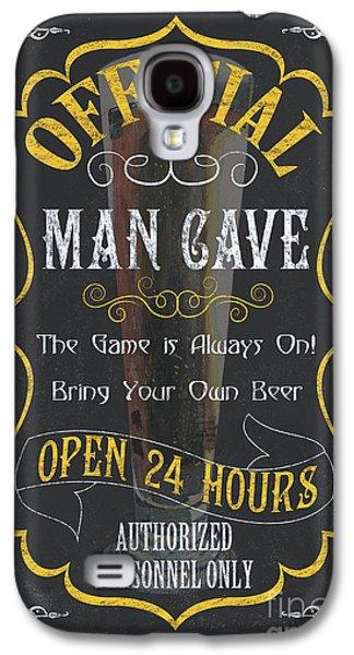 Official Man Cave Galaxy S4 Case by Debbie DeWitt