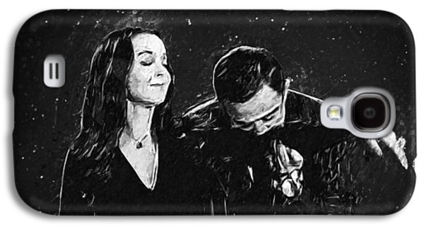 Oh Tish I Love It When You Speak French - The Addams Family  Galaxy S4 Case by Taylan Apukovska