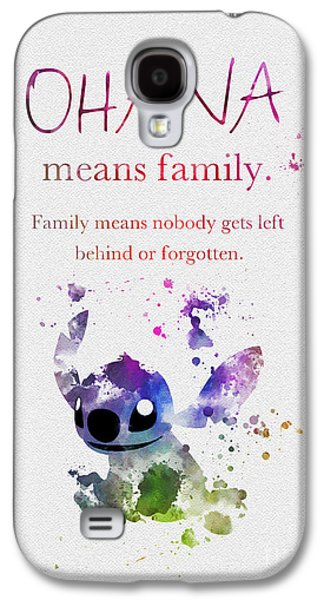 Ohana Means Family 3 Galaxy S4 Case