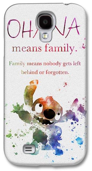 Ohana Means Family Galaxy S4 Case