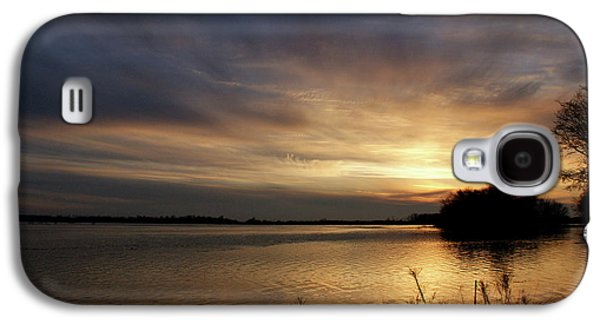 Ohio River Sunset Galaxy S4 Case by Sandy Keeton