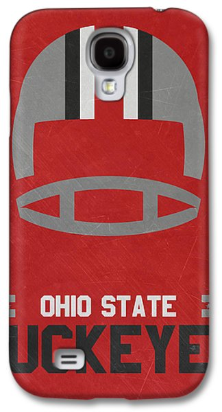 Ohio State Buckeyes Vintage Football Art Galaxy S4 Case