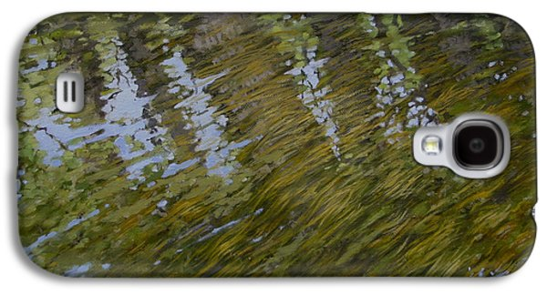 Canoe Painting 3 Galaxy S4 Case by Jason Sawtelle