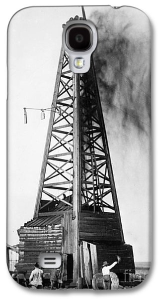 Oklahoma: Oil Well, C1922 Galaxy S4 Case by Granger
