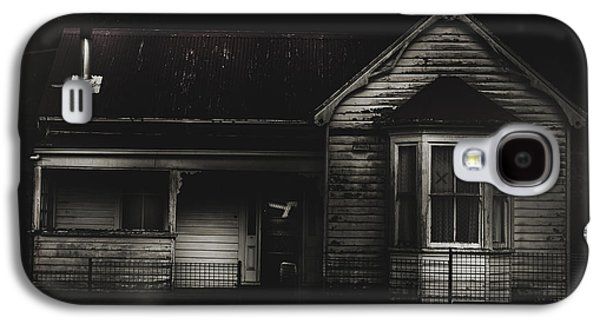 Old Abandoned Haunted House Of Horrors Galaxy S4 Case