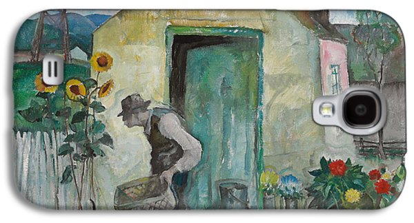 Old Albert  Galaxy S4 Case by Newell Convers Wyeth