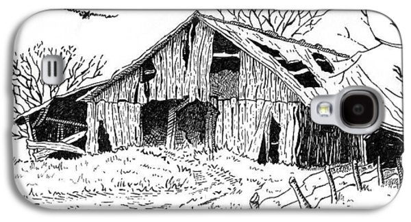 Old Barn Galaxy S4 Case