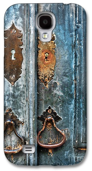 Old Blue Door Galaxy S4 Case