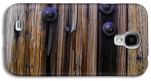 Old Door With Bolts And Nails Galaxy S4 Case
