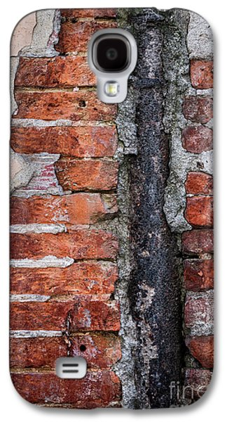 Old Brick Wall Fragment Galaxy S4 Case