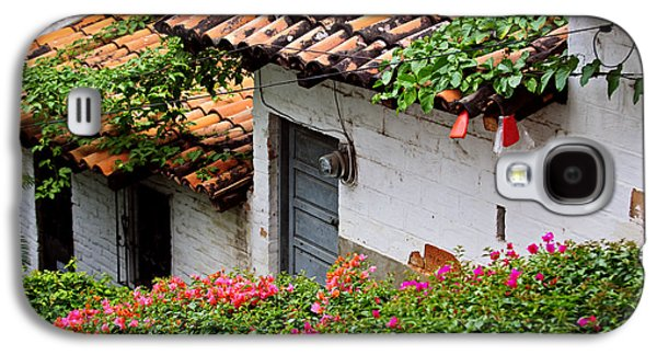 Old Buildings In Puerto Vallarta Mexico Galaxy S4 Case