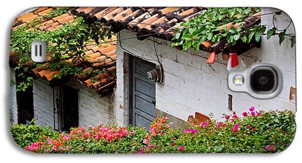 Rooftop Galaxy S4 Cases - Old buildings in Puerto Vallarta Mexico Galaxy S4 Case by Elena Elisseeva