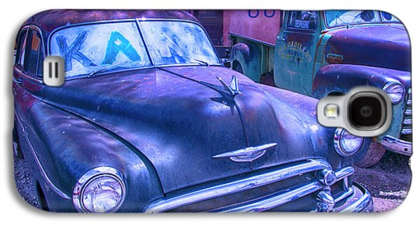 Old Car And Pickup Route 66 Galaxy S4 Case by Garry Gay