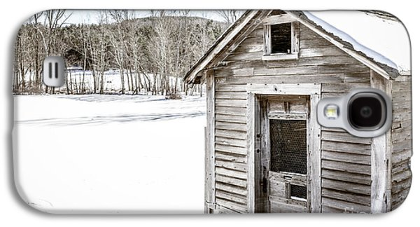 Old Chicken Coop In Winter Galaxy S4 Case