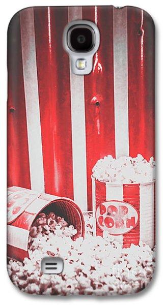 Old Cinema Pop Corn Galaxy S4 Case by Jorgo Photography - Wall Art Gallery