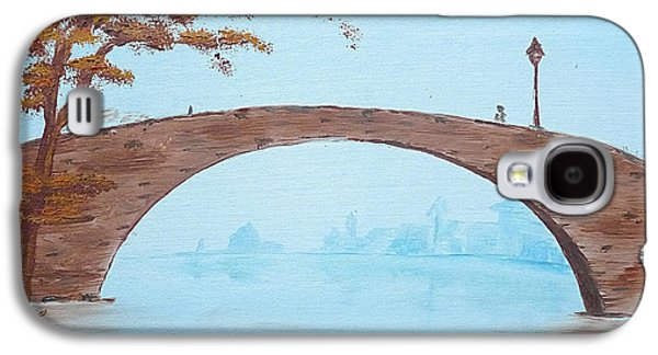Old City Bridge Galaxy S4 Case by Birgit Moldenhauer