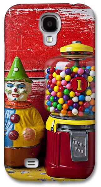 Old Clown Toy And Gum Machine  Galaxy S4 Case