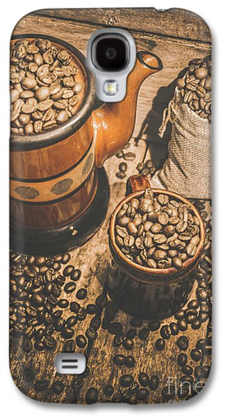 Old Coffee Brew House Beans Galaxy S4 Case by Jorgo Photography - Wall Art Gallery