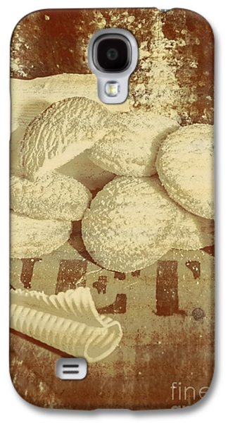 Old Cookie Tin Sign Art Galaxy S4 Case by Jorgo Photography - Wall Art Gallery