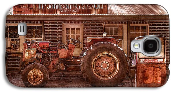 Tn Barn Galaxy S4 Cases - Old Days Vintage Galaxy S4 Case by Debra and Dave Vanderlaan