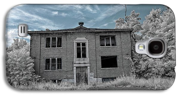 Old Edmonton High School Ir 2 Galaxy S4 Case by Amber Flowers