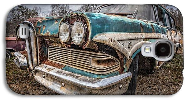 Old Edsel Galaxy S4 Case by Debra and Dave Vanderlaan