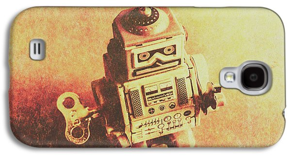Old Electric Robot Galaxy S4 Case by Jorgo Photography - Wall Art Gallery