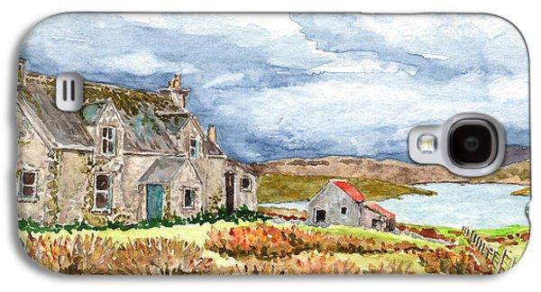 Old Farm Isle Of Lewis Scotland Galaxy S4 Case by Timithy L Gordon