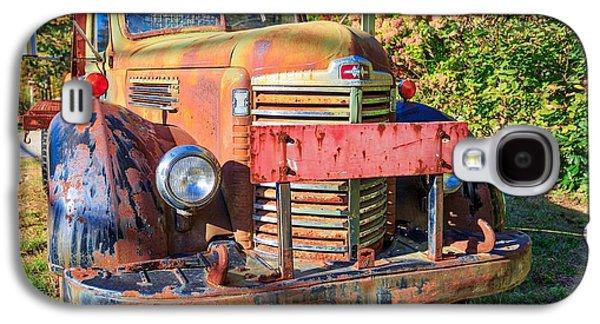 Old Farm Truck Hdr Galaxy S4 Case