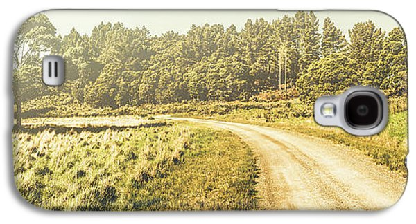 Old-fashioned Country Lane Galaxy S4 Case