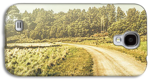 Old-fashioned Country Lane Galaxy S4 Case by Jorgo Photography - Wall Art Gallery