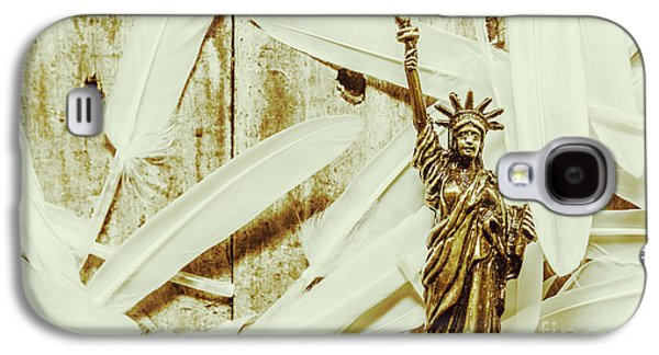International Travel Galaxy S4 Case - Old-fashioned Statue Of Liberty Monument by Jorgo Photography - Wall Art Gallery