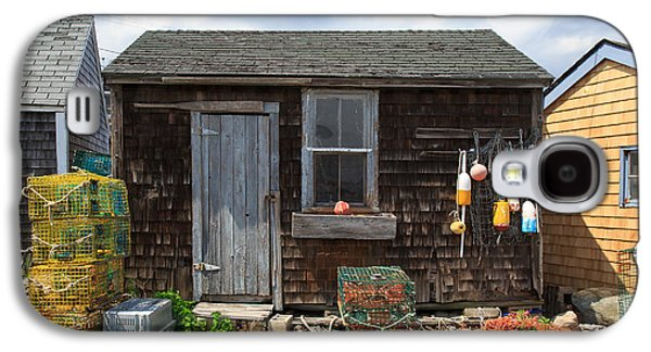 Old Fishing  Houses  Galaxy S4 Case