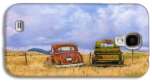 Beetle Galaxy S4 Case - Two Old Friends  by Sarah Batalka