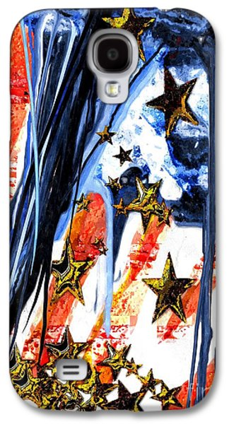 Old Glory Falling Stars Galaxy S4 Case