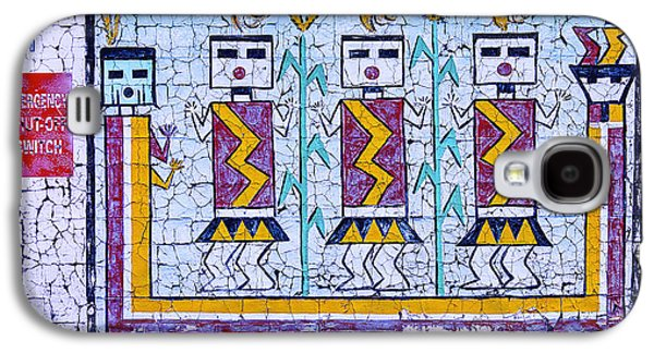 Old Indian Mural Galaxy S4 Case