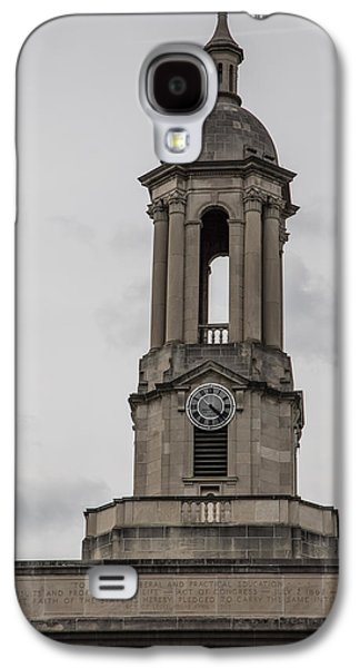 Old Main From Front Clock Galaxy S4 Case by John McGraw