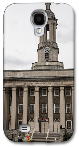 Old Main Penn State From Front  Galaxy S4 Case by John McGraw
