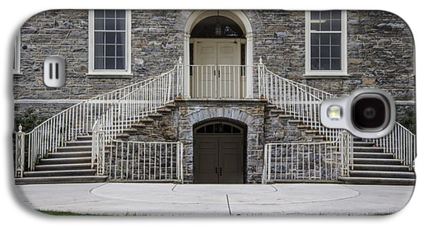 Old Main Penn State Stairs  Galaxy S4 Case by John McGraw