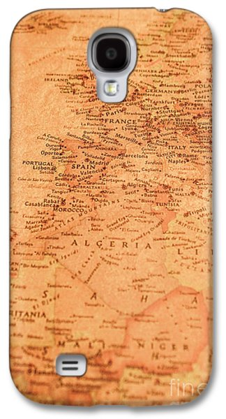 Old Maritime Map Galaxy S4 Case by Jorgo Photography - Wall Art Gallery